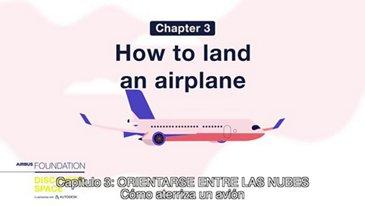 ¿Cómo aterriza un avión?