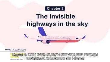 Unsichtbare Autobahnen am Himmel