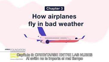 Al avión no le importa el mal tiempo