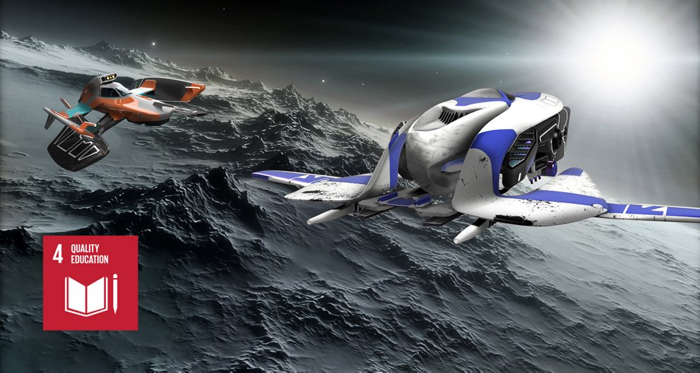 Discovery Space aircraft