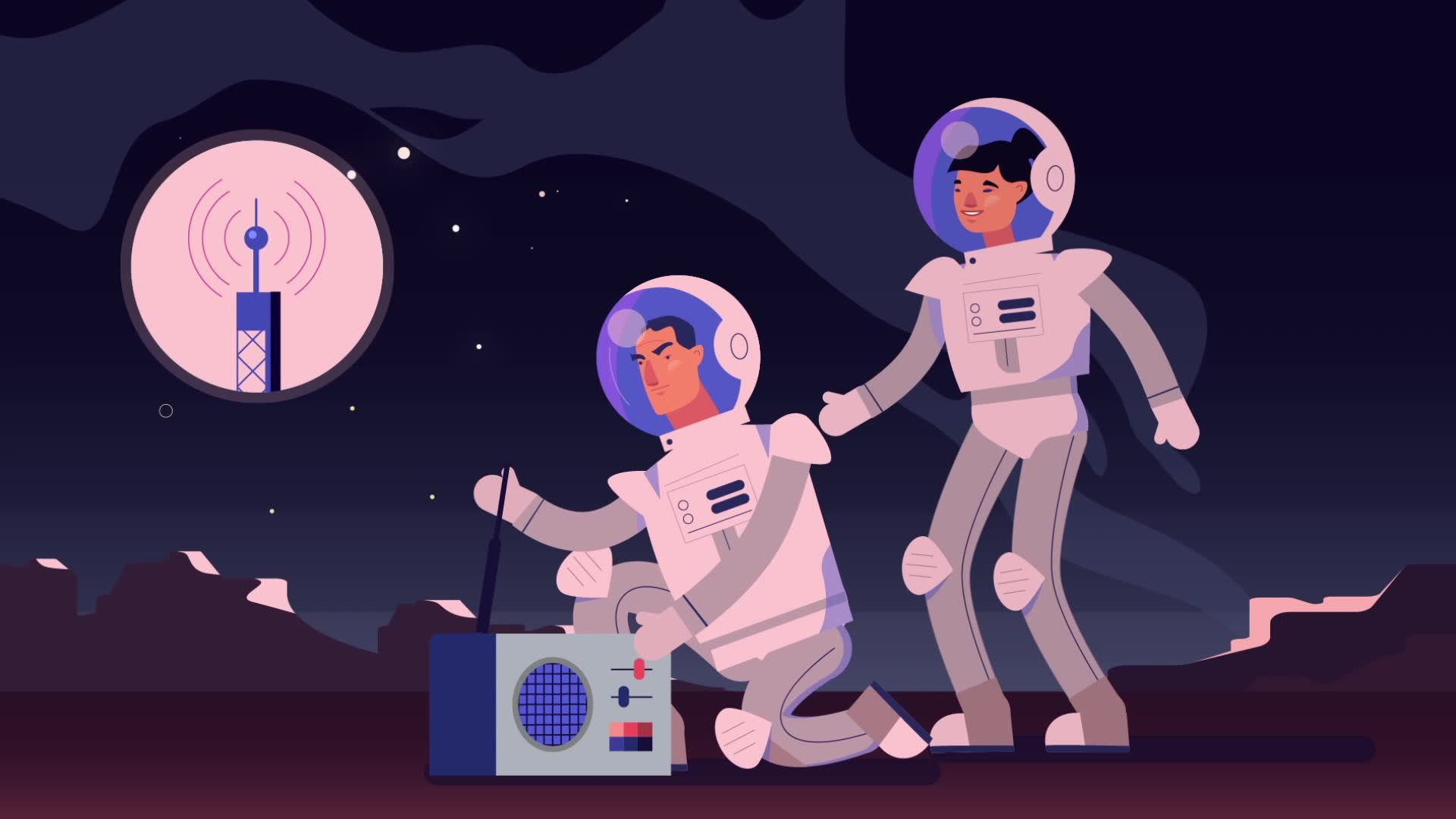Airbus Foundation Discovery Space How to communicate on the moon