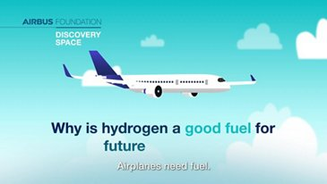What makes hydrogen such a good fuel for future airplanes?