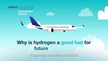 Was macht Wasserstoff zu einem so guten Treibstoff für zukünftige Flugzeuge?