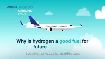 ¿Por qué el hidrógeno es un buen combustible para los aviones del futuro?
