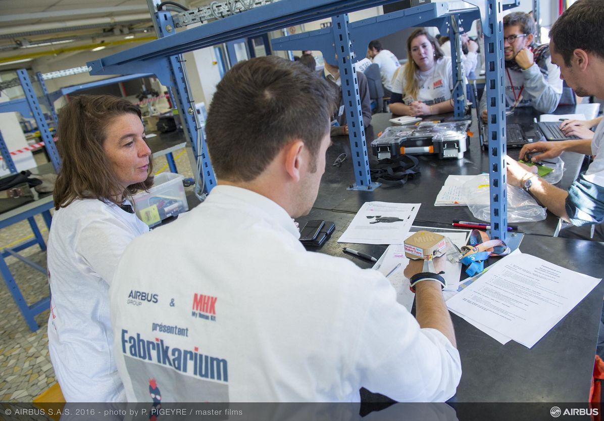 Fabrikarium: 'Sonar Glove' Team (II)