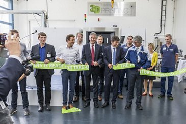 Industrial Service Center 3D Printing Opening Event