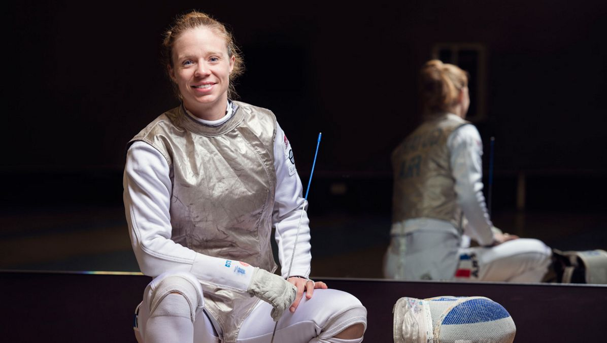 Astrid Guyart Olympic fencer
