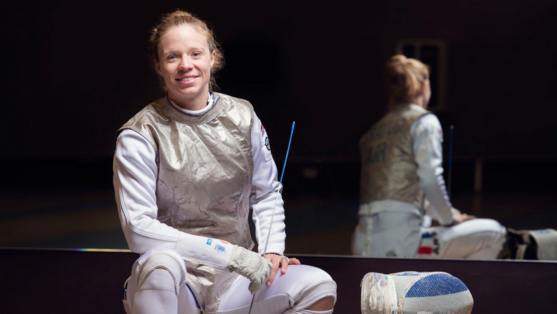 Astrid Guyart Olympic fencer