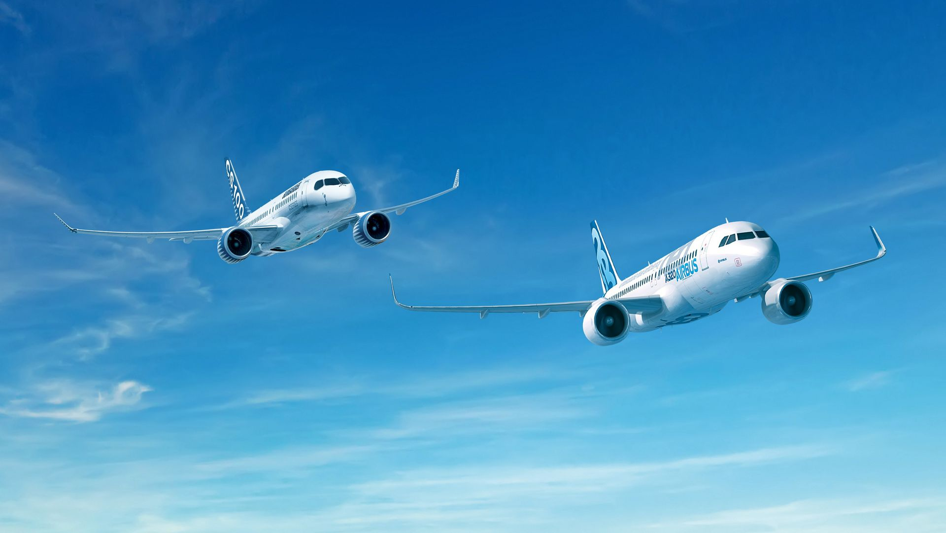 Airbus And Bombar R Announce C Series Partnership