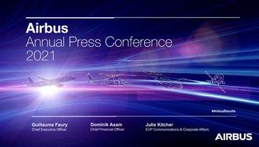 Airbus Annual Press Conference 2021