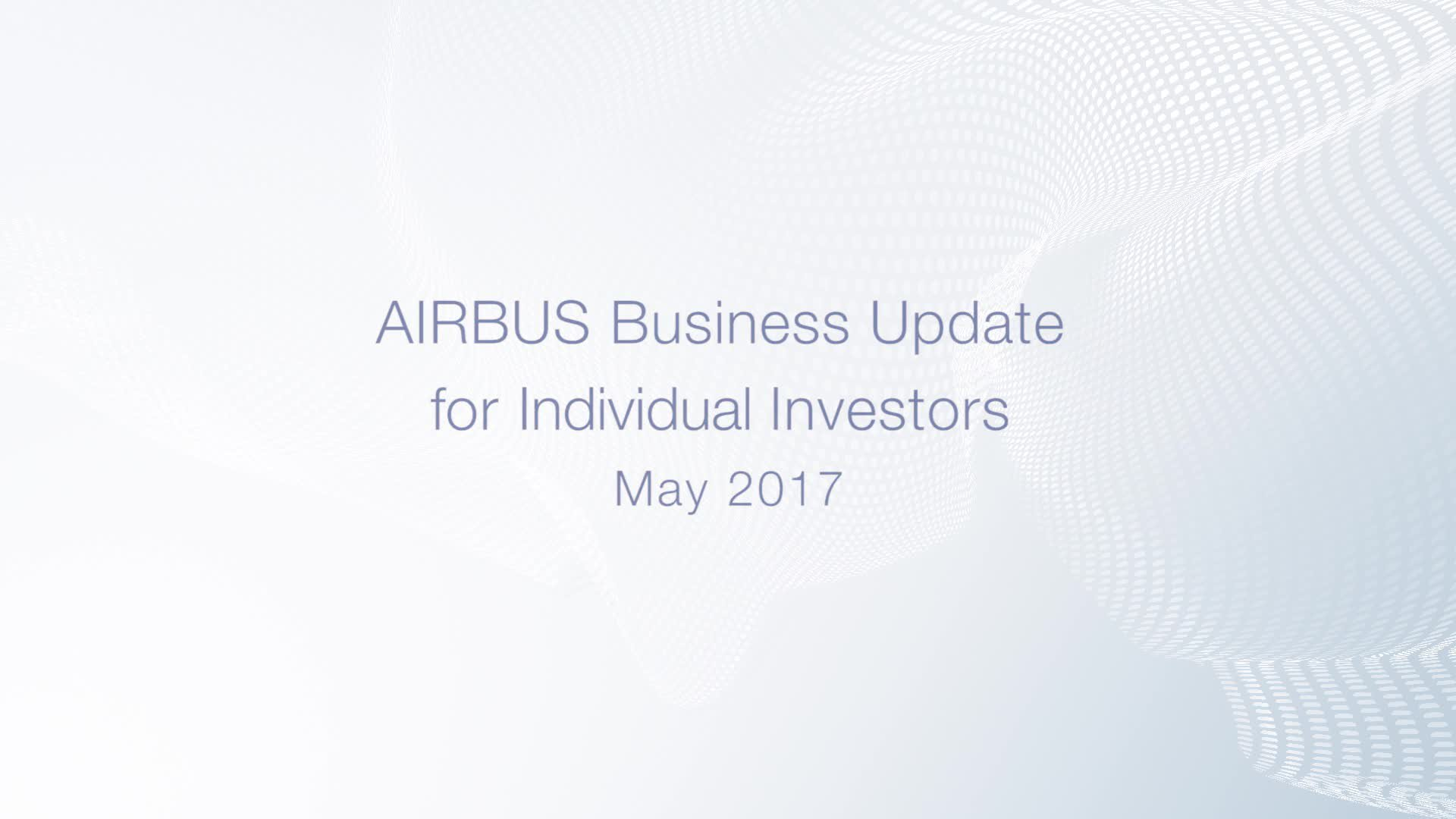 Interview with Julie Kitcher, Head of Investor Relations and Financial Communication at Airbus