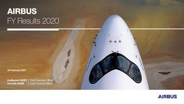 Airbus Full-Year 2020 Results