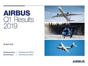 Airbus Q12019 PRESENTATION