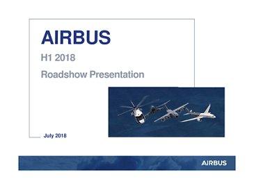 Airbus H1 2018 Roadshow Presentation