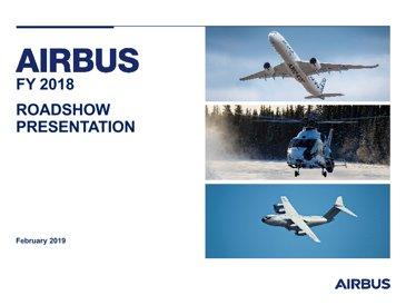 FY2018 Airbus Roadshow Presentation