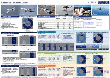 Airbus Investor Guide H1 2018