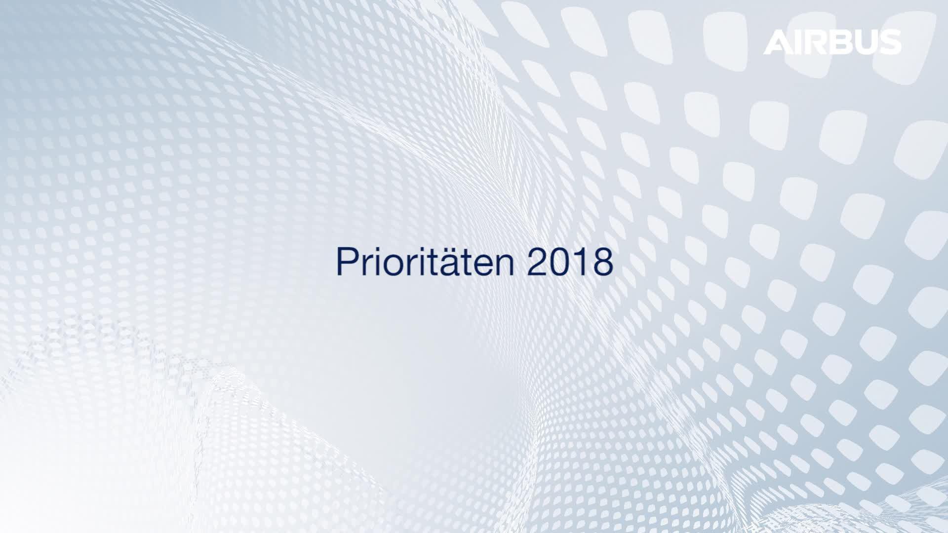 Business Update Q1 2018 mit Harald Wilhelm, CFO Airbus