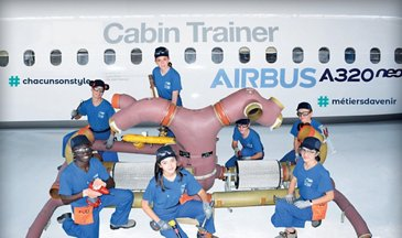 Lycee Airbus Cabin Trainer