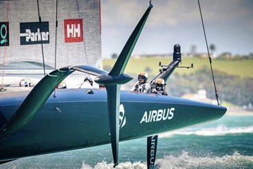 Airbus technology getting ready to compete in the 2021 Americas Cup