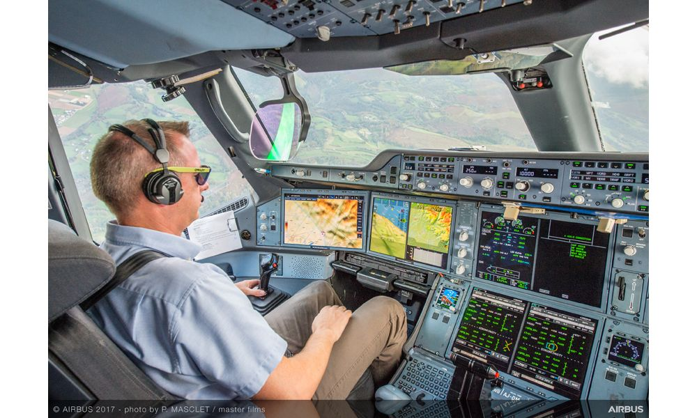 Airbus' new synthetic vision system 1