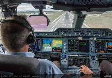 Airbus' new synthetic vision system 2