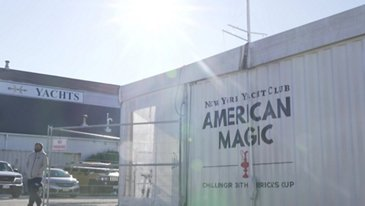 Airbus is the proud to be the Innovation Partner for the American Magic team