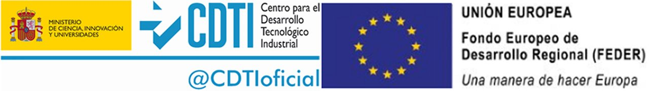 Logo CDTI FEDER
