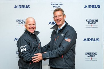 Official Innovation Partnership Announcement Airbus And American Magic