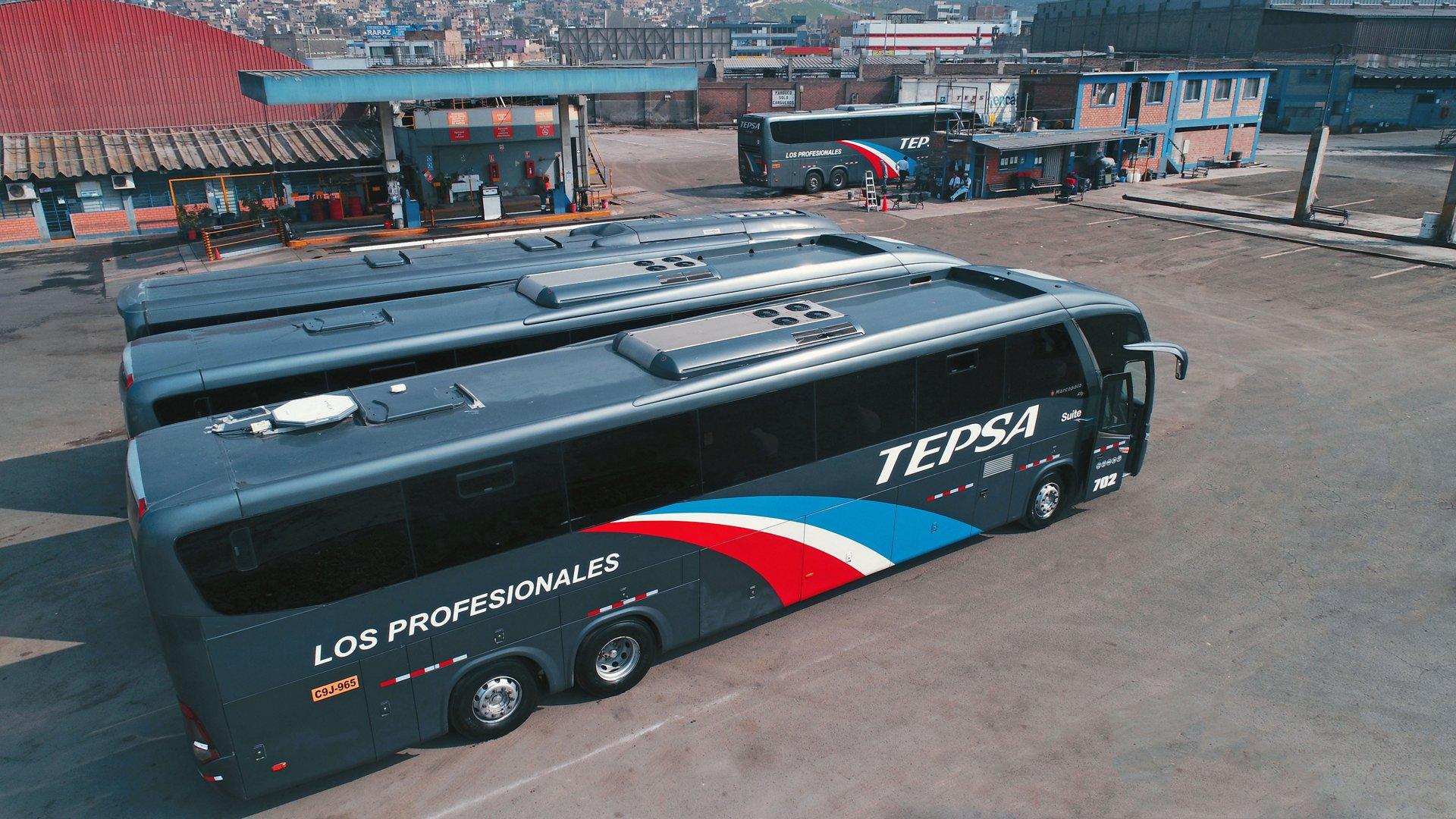 TEPSA garage in Lima, Peru.