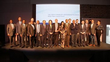 The Great Enabler Aerospace In Africa Panellists During The Launch Event In Toulouse