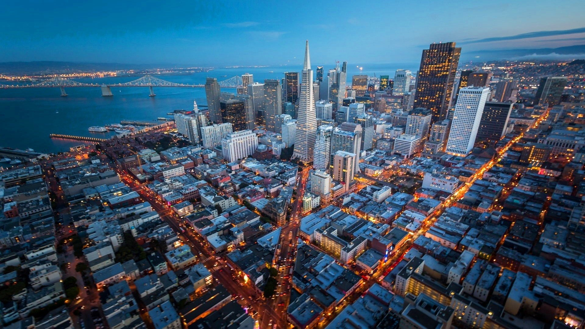 san francisco california usa metropolis wallpapers - 1920x1080 - 843914 - HD Wallpaper for PC Desktop Background