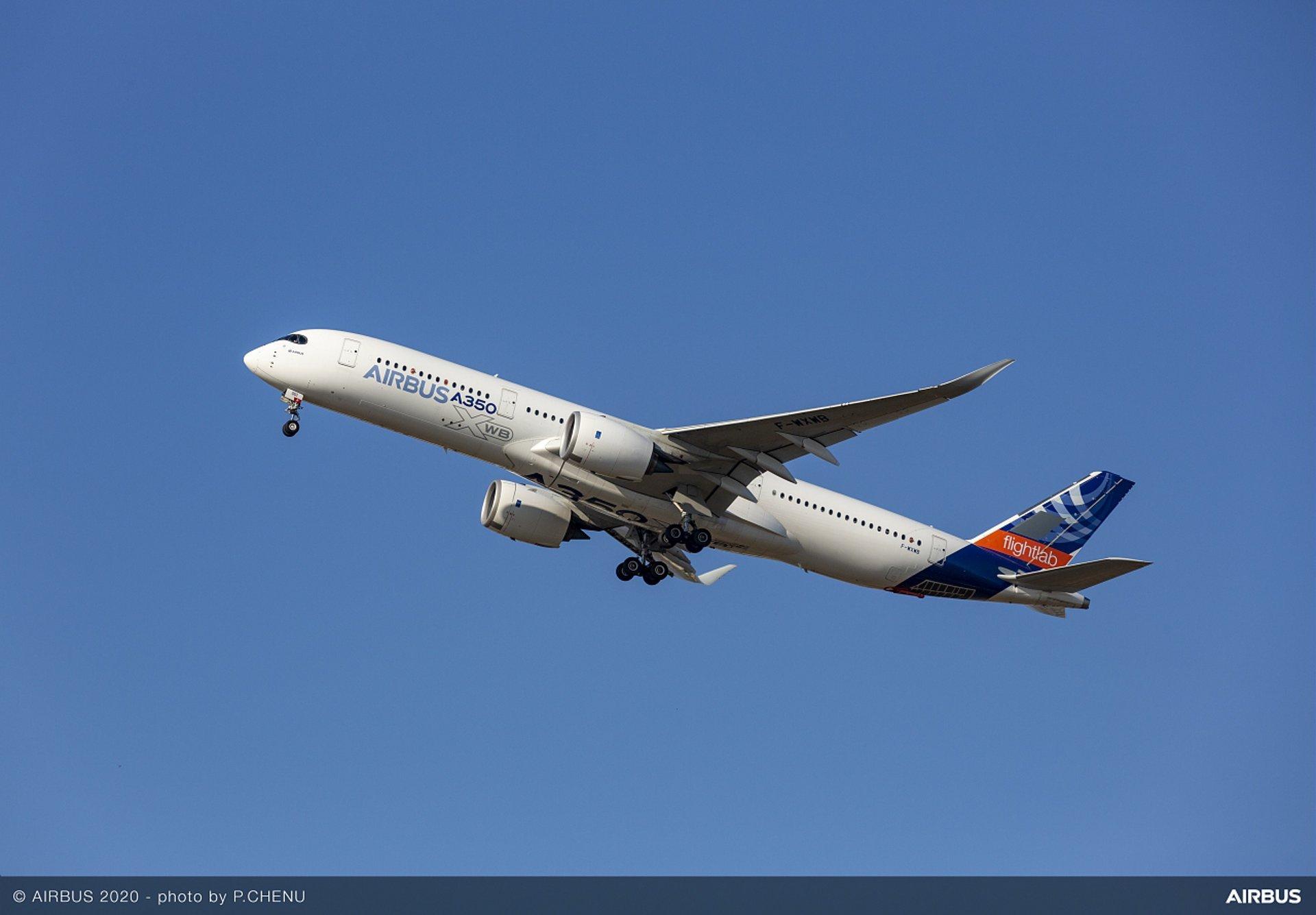 A350 MSN1 Flight Lab Flightlab