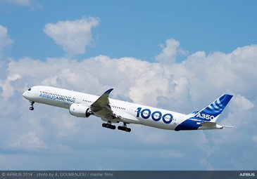 ATTOL - A350-1000 taking off