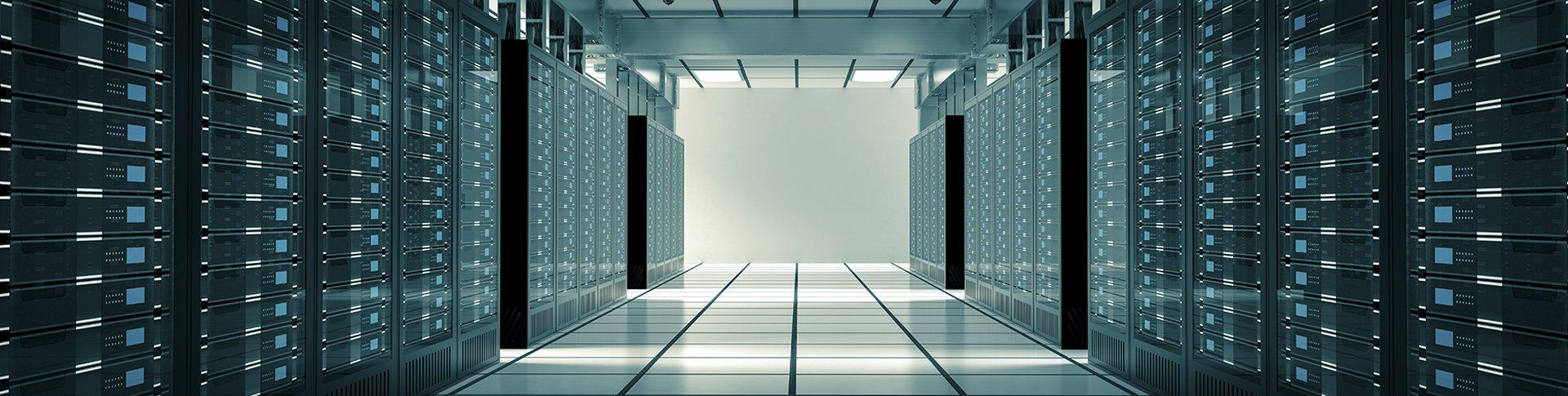 Servers in Data Center.