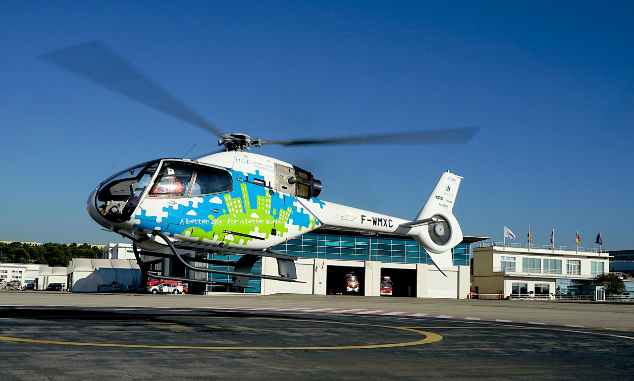 "Airbus and its predecessor companies pursued ""green"" helicopter technologies through Europe's Clean Sky initiatives."