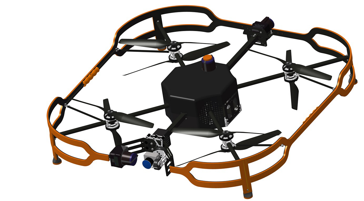Airbus' new Advanced Inspection Drone accelerates and facilitates visual checks of aircraft, considerably reducing aircraft downtime and improving the quality of inspection reports