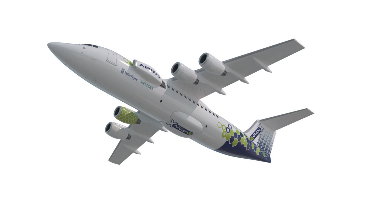 The E-Fan X is the next step in Airbus' electrification journey