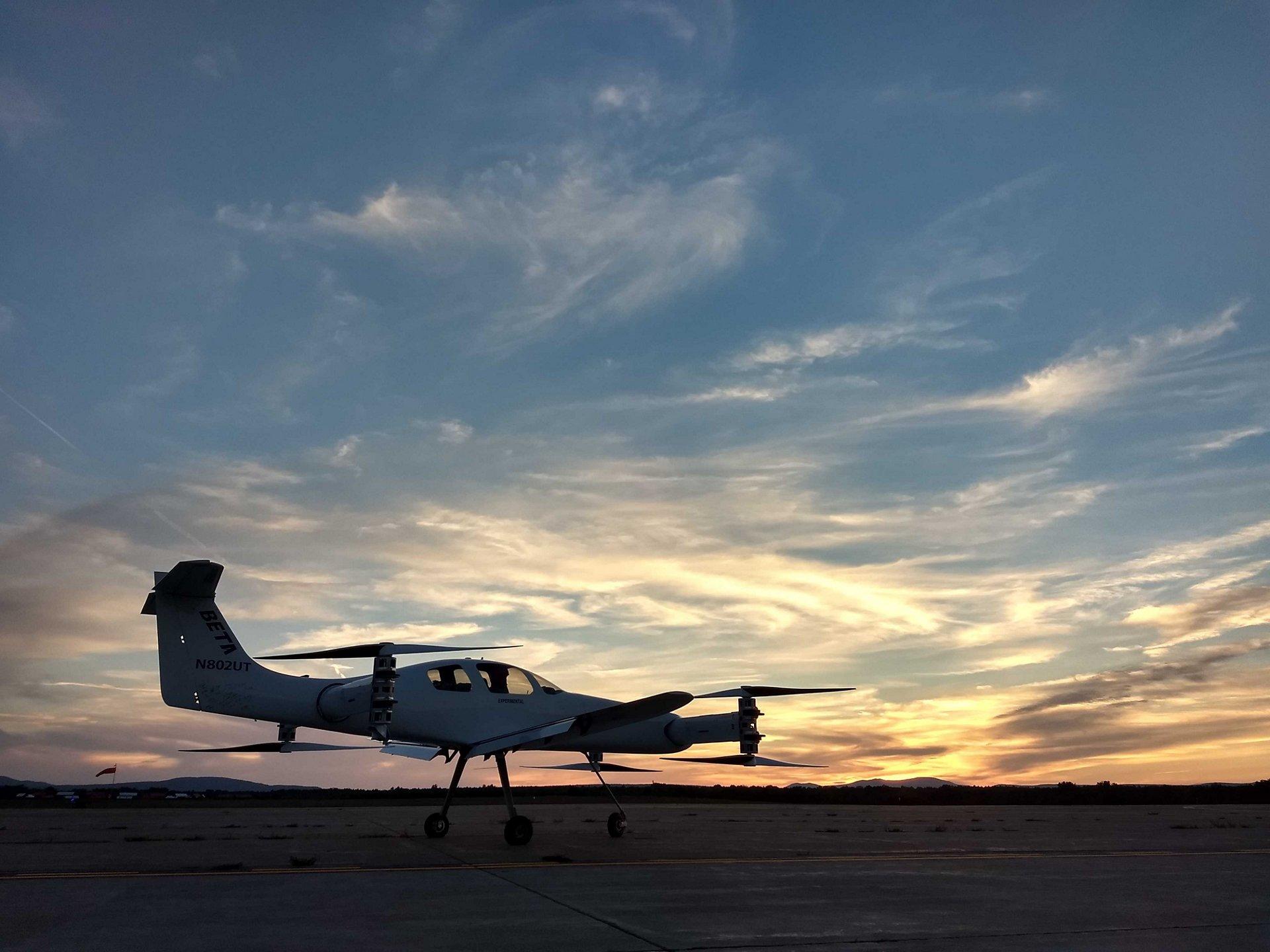 Air Race E Team Blue BETA Racing Electric Flight