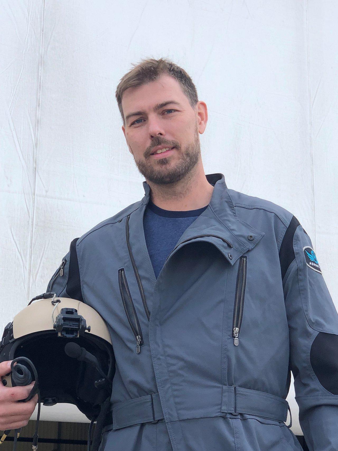 Air Race Kyle Clark Head Of Team Blue BETA Racing