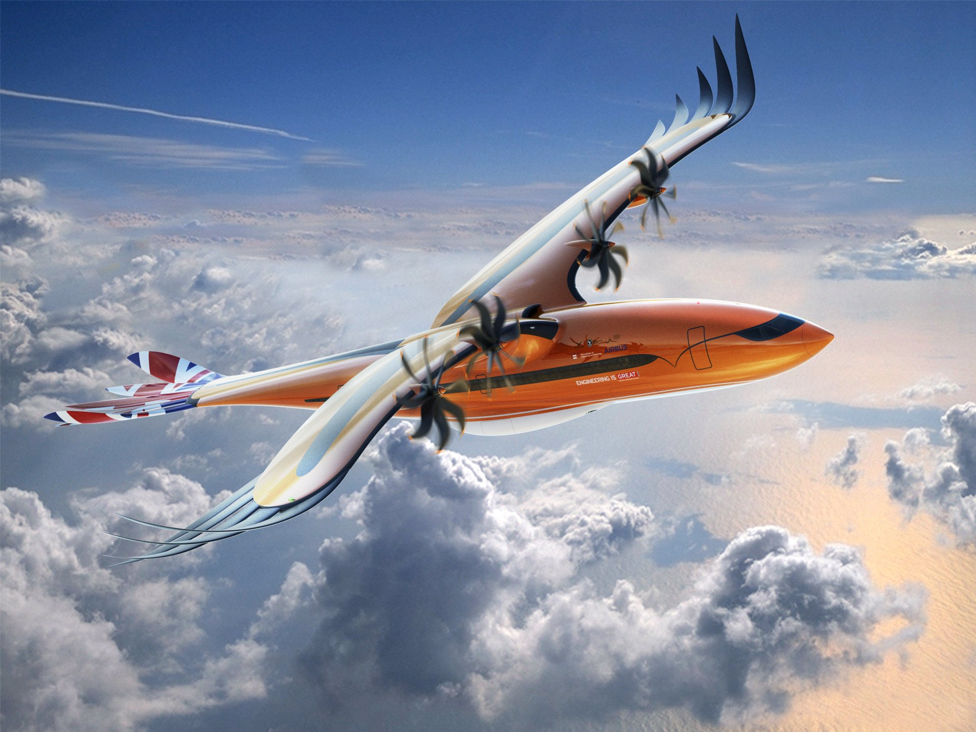 "An Airbus futuristic conceptual airliner ""takes flight"" to inspire next-generation engineers"