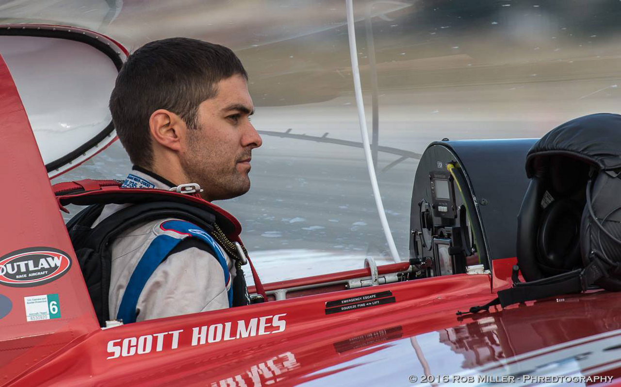 Scott Holmes, a professional engineer, will lead Team Outlaw in Air Race E – which will become the world's first all-electric airplane race when it launches its inaugural series of international races in 2020