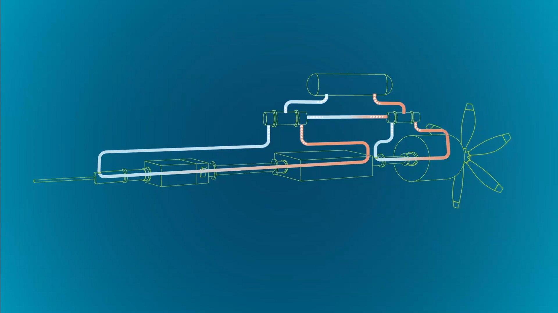 这个由空中客车公司UpNext领导的地面演示项目旨在探索低温和超导技术如何提高低排放飞机的电乐动体育app靠谱吗力和混合电力推进性能。