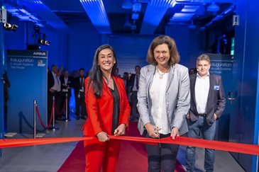 E-Aircraft System (EAS) Test House Inauguration in Ottobrunn