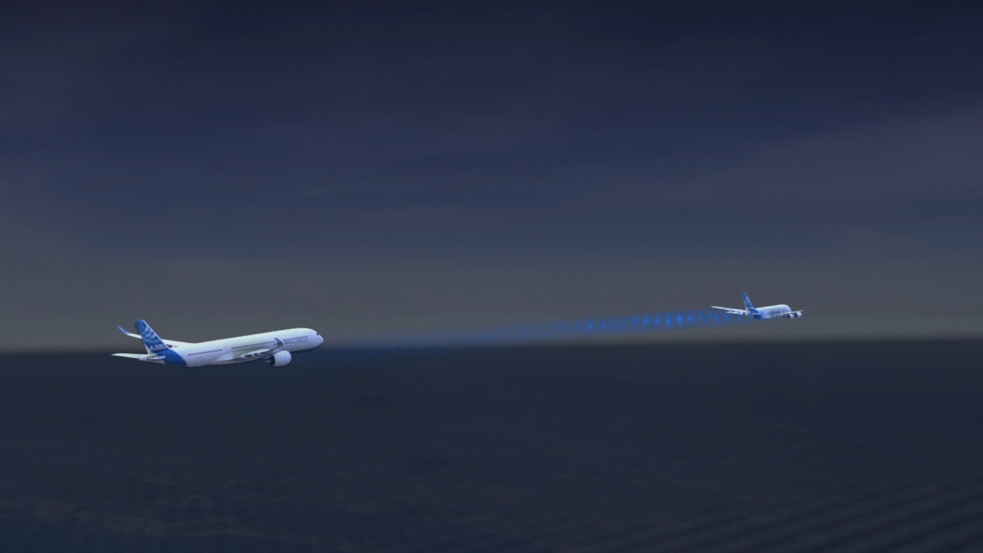 Airlines are looking to reduce fuel consumption. Wake-energy retrieval could help