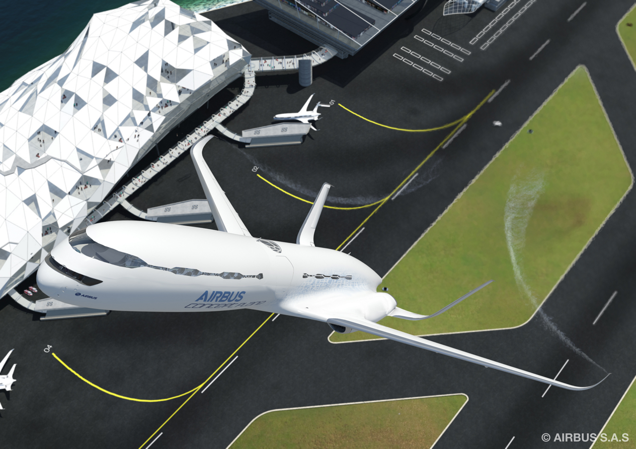 "A key feature of Airbus' Smarter Skies campaign is the use of a continuous ""eco-climb"" during takeoff, which will help increase capacity at constrained megacities/airports"