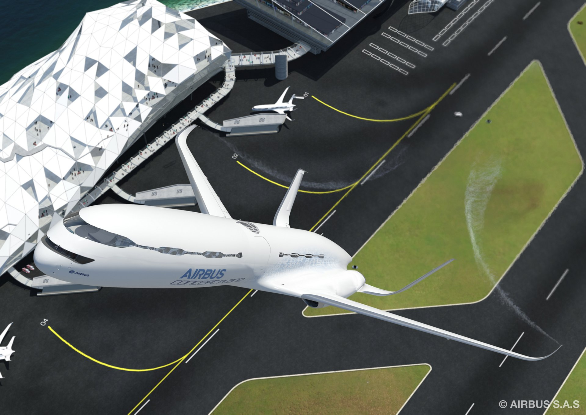 1c. Aircraft take-off in continuous eco-climb