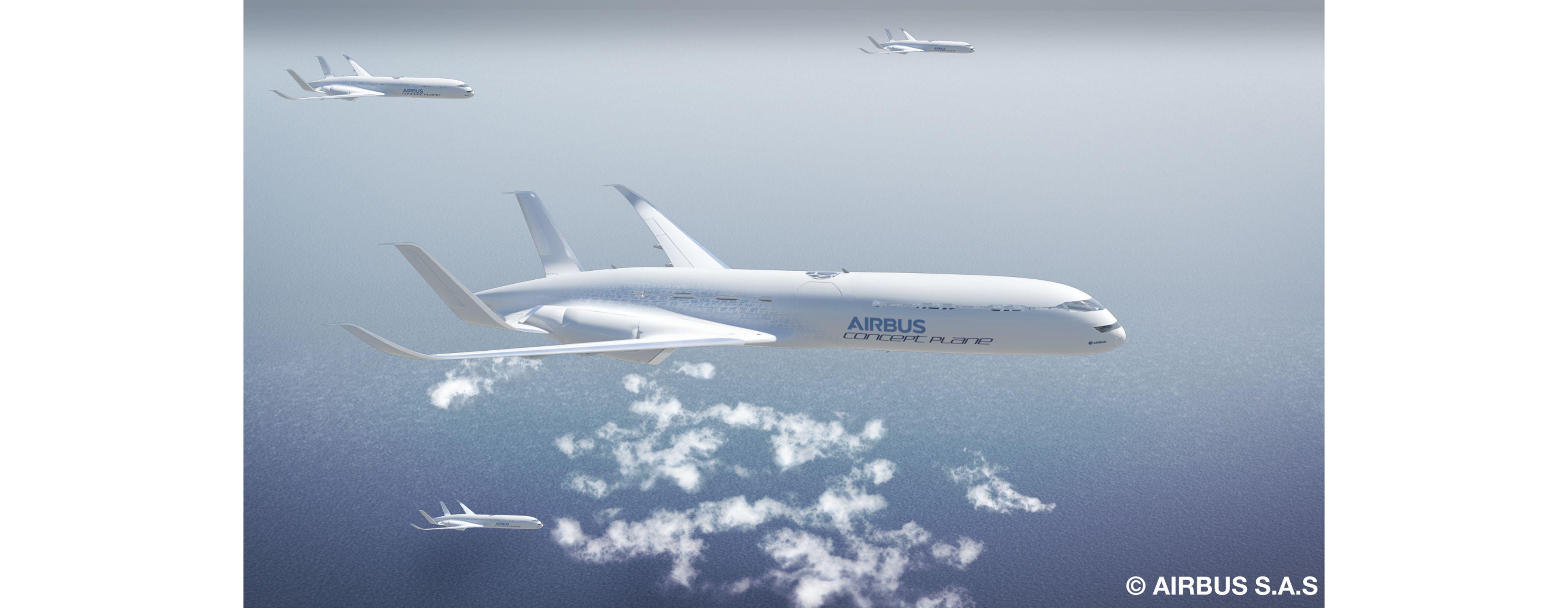 airbus unveils its 2050 vision for u0027smarter skies u0027