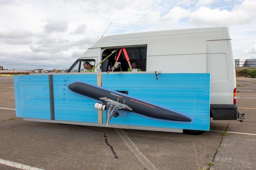AlbatrossONE Van Test