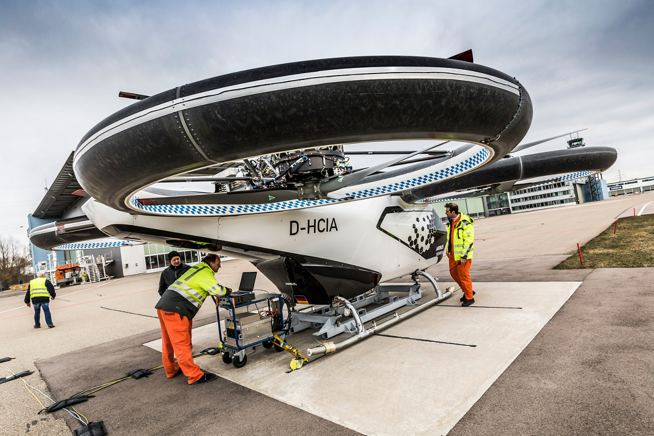 CityAirbus – an urban air vehicle demonstrator designed to be fully-electric and emissions-free – is advancing electric vertical take-off and landing (eVTOL) flight