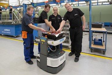 New Robot Air2D2 Bremen